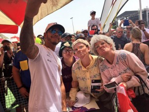 The-Dancing-Grannies-with-Lewis-Hamilton-taking-a-selfie-at-the-Bahrain-Grand-Prix
